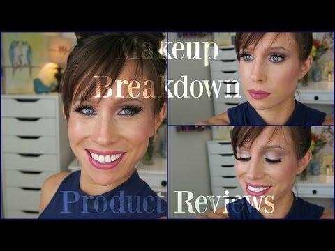 Makeup Breakdown | Pink & Mauve Sparkle MAC Eyeshadows | OOTD | TONS of REVIEWS