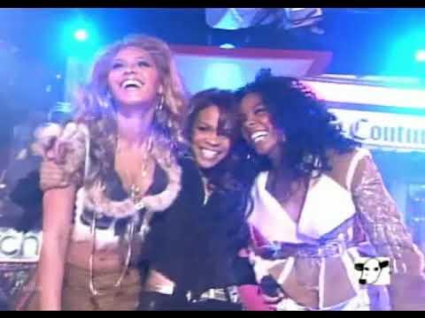 Destiny s Child Lose My Breath live TRL - YouTube