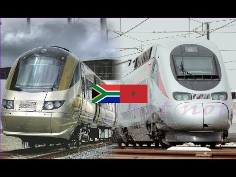 The fast train: Morocco VS South Africa - YouTube