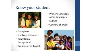 Strategies for Supporting English Language...
