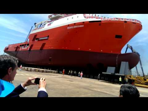 Pacific Discovery launching.mp4