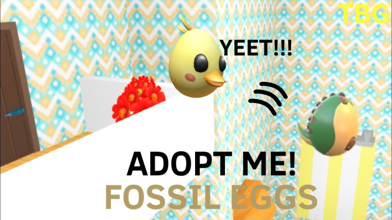 Hatching Fossil Eggs Until I get a legendary in Adopt Me!