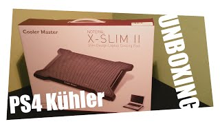 ps4 notebook khler deutsch unboxing cooler master x slim ii cooling pad trubagaming