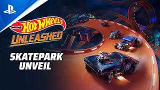Hot Wheels Unleashed - Skatepark Unveil | PS5, PS4