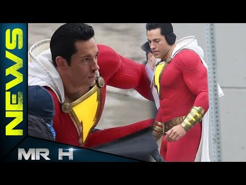 SHAZAM! Costume Zach Levi Responds To The Hate