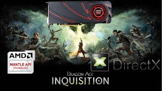 Dragon Age Inquisition DirectX Vs Mantle