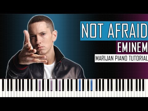 How To Play: Eminem - Not Afraid | Piano Tutorial
