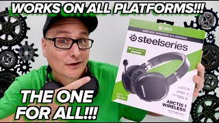 NOT JUST XBOX! SteelSeries Arctis 1 Xbox One Wireless Gaming Headset Review