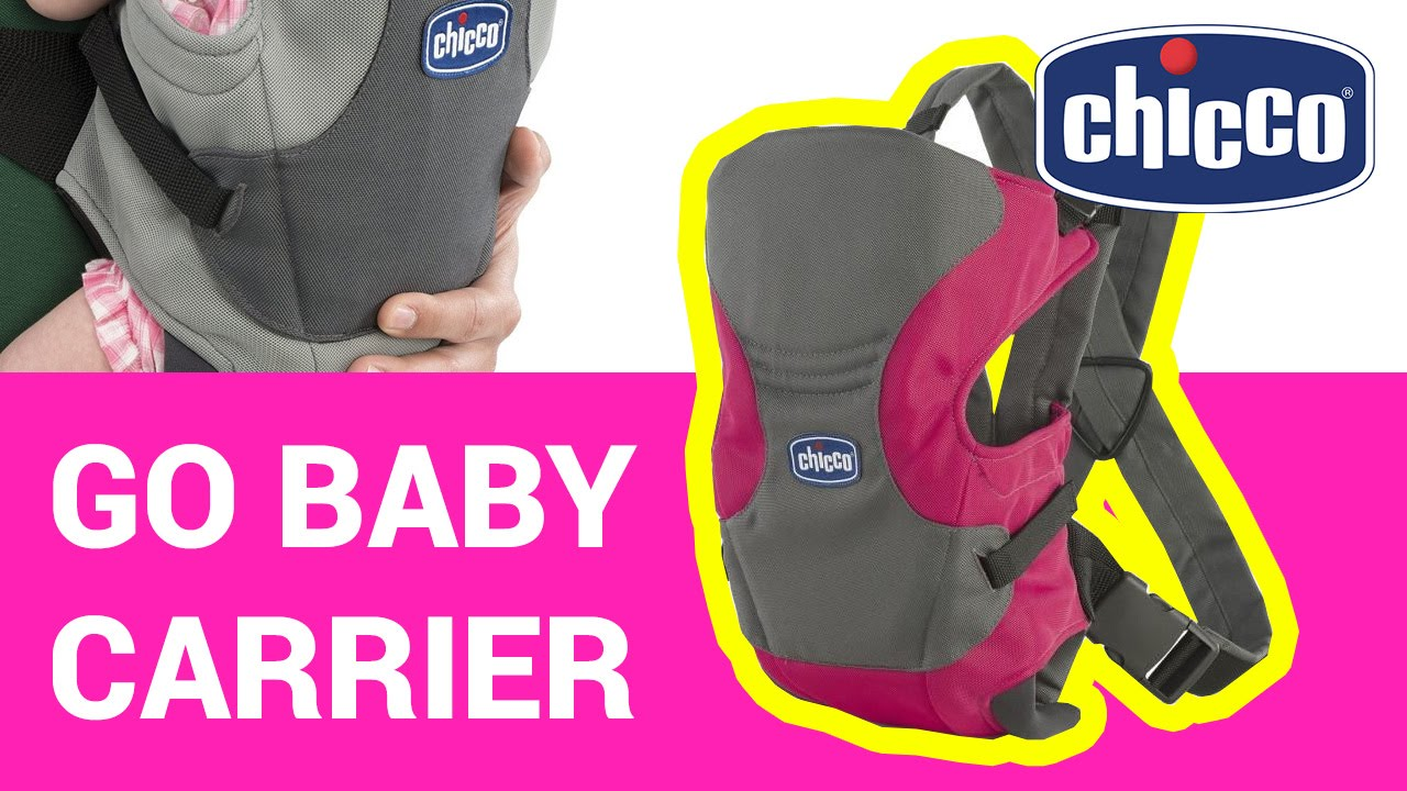 2e9c8b950950 Chicco Go Baby carrier pink 79401.17 unpacking and short overview ...
