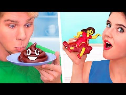 11 Kendin Yap Tarzı Emoji Yemek Tarifi / Emoji Donut Nasıl Yapılır
