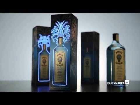 Karl Knauer: Erste leuchtende Verpackung für Bacardi - First luminous packaging for Bacardi