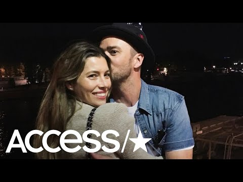 Justin Timberlake & Jessica Biel Look Loved Up In Paris! | Access Mp3