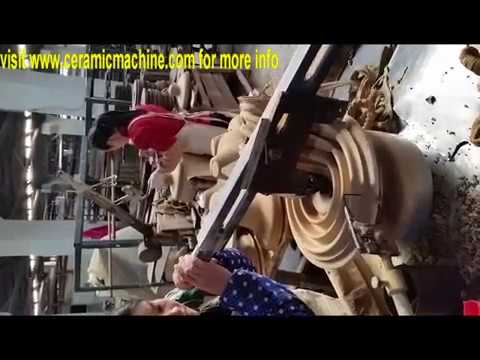 jiggerning machine for suspension type porcelain insulator