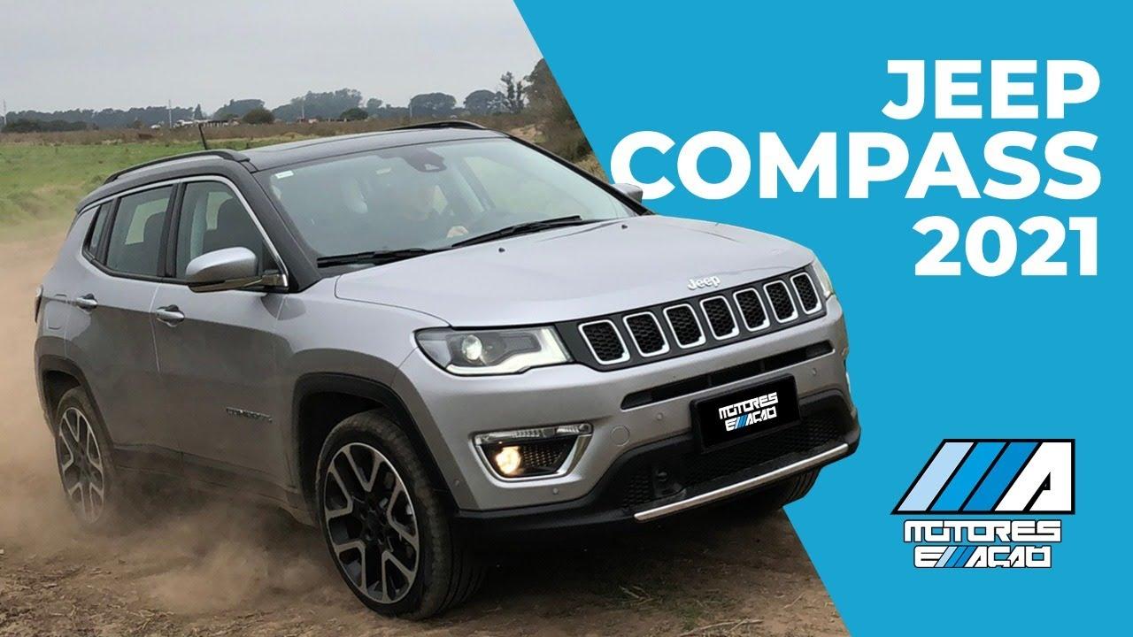 Novo Jeep Compass 2021 Lancamento Europa Motoreseacao Youtube