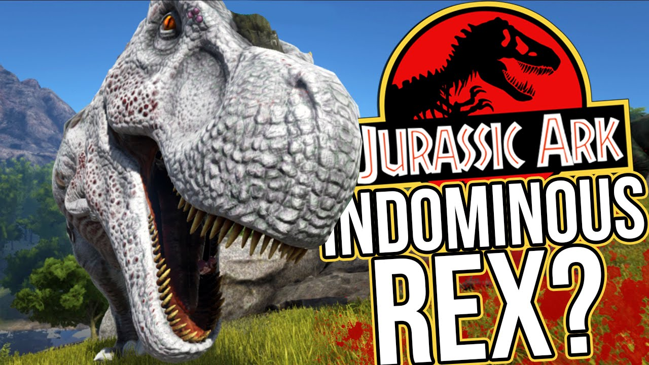 Ark Survival Evolved Gameplay Meeting The Indominous Rex