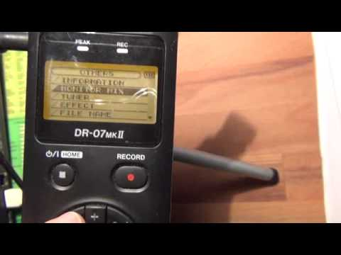 Tascam Dr 7 Mk Ii Tutorial How To Make Overdubs Youtube