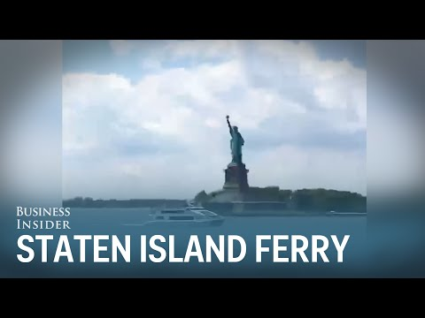 The Staten Island Ferry also offers great views of Manhattan, Lady Liberty, and Brooklyn