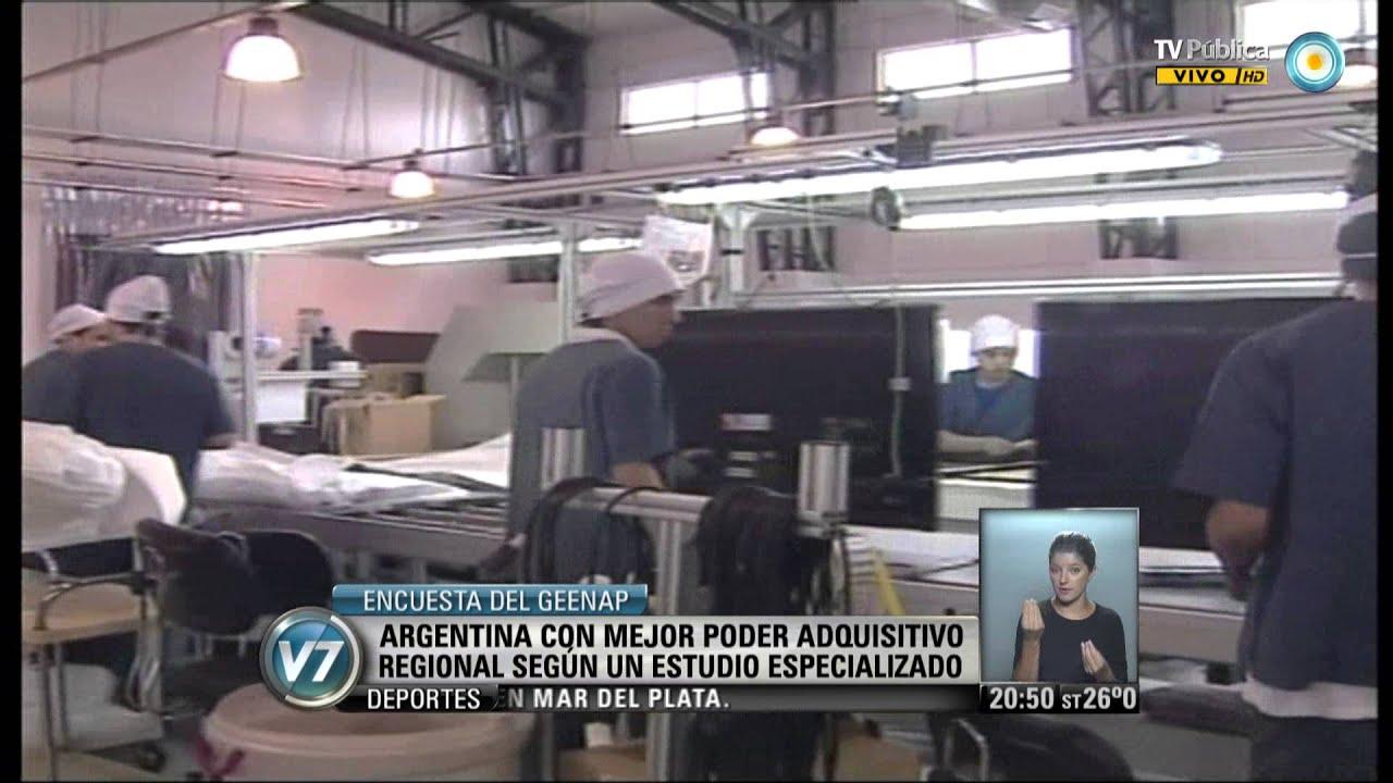 Visión 7 Argentina Con Mejor Poder Adquisitivo Regional