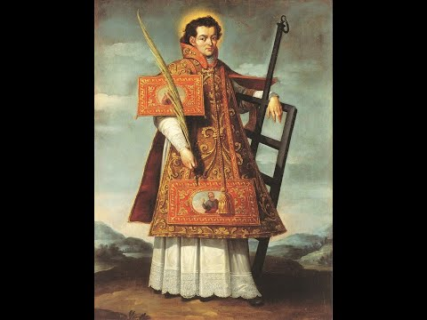 St Lawrence Had a Love for Sacrifice that Holy Desires Could Give