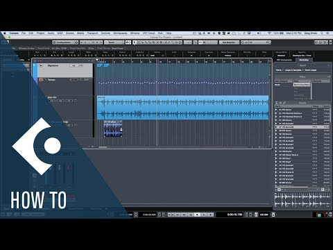 How to Make Loops Match Variable Audio Tempo in Cubase | Q&A with Greg Ondo