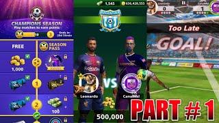 Football Strike COMPLETING CHAMPIONS SEASON PART 1 Leo Ortiz