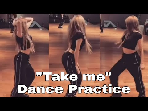 "LISA (BlackPink) X HONEY J - ""Take Me"" (by Miso) Dance Practice Video"