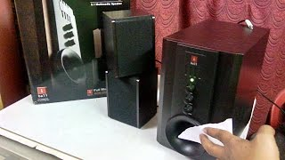 Unboxing iBall Tarang 2.1 Speaker with Woofer Sound Testing