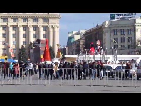 Масленица на площади Свободы
