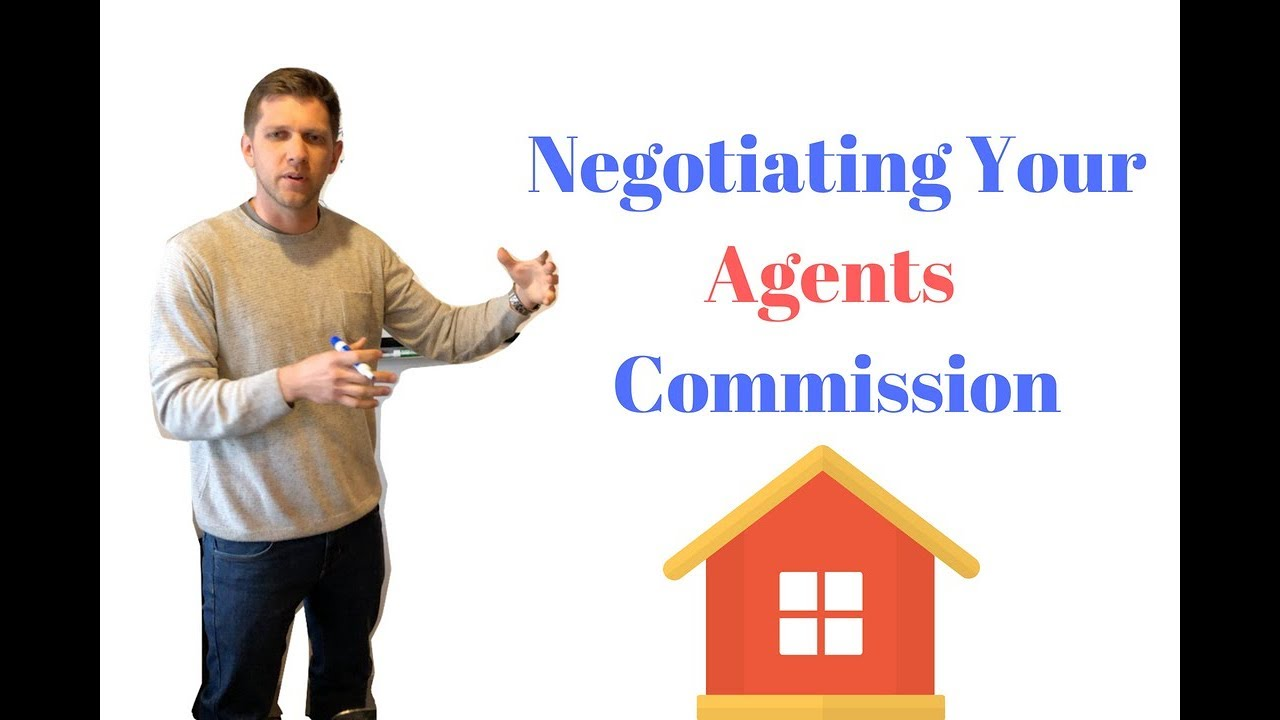 Should You Negotiate Your Real Estate Agents Commission | WhiteBoard Wednesday #6