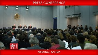 Press Conference on the international group to combat human trafficking 2018-02-09