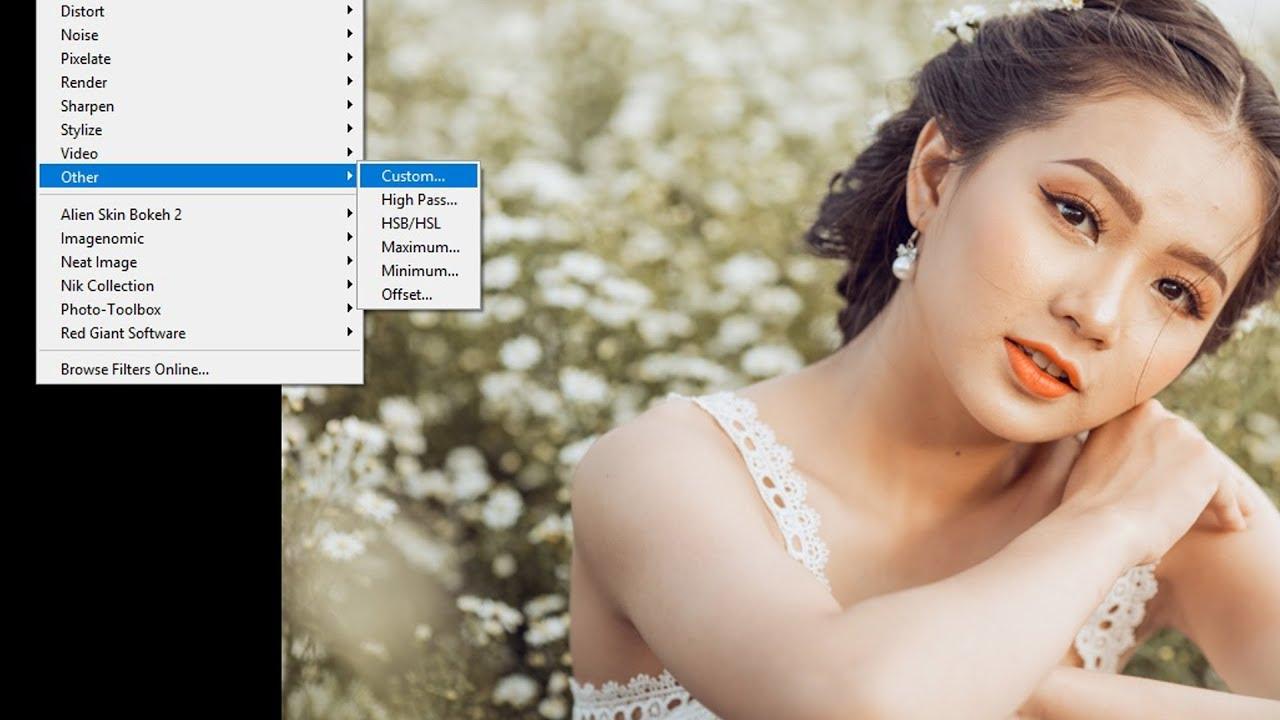Hướng Dẫn Tăng #Nét Cho Ảnh Bằng #Custom Trong #Photoshop