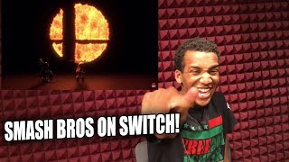 CAUGHT EVERYONE OFF GUARD | Super Smash Bros. Switch Reveal Trailer Reaction