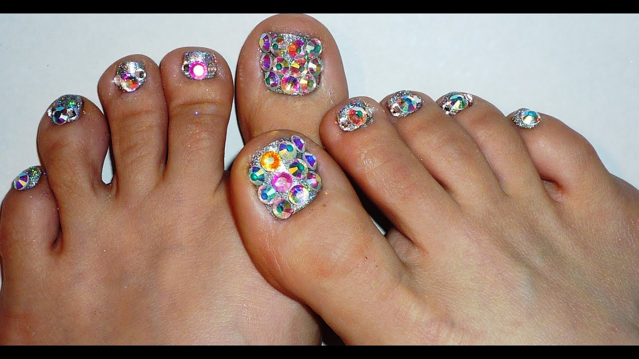 Diamond Toes New Years 2012 Design - YouTube