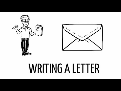 Letter Writing For Kids Youtube