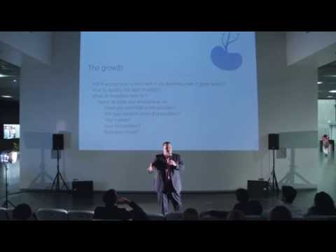 "Haig Kayserian: ""From Startup to Business"" - Tumo, Yerevan"
