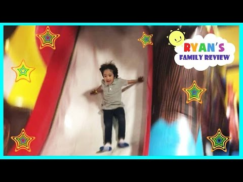 Thumbnail: Indoor playground family fun play area for kids bounce house and arcade games Ryan's Family Review