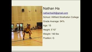 Nathan Ha Official U16 Basketball Mixtape