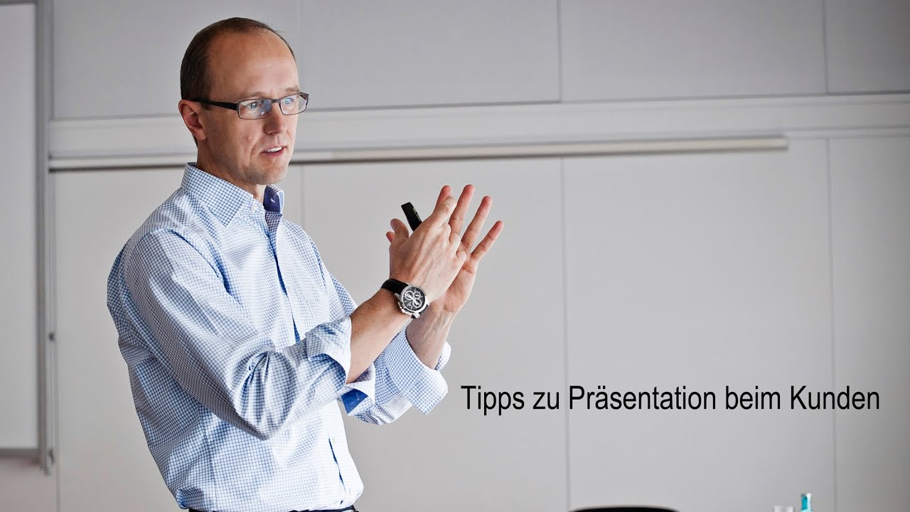 3 Tipps für Ihre Verkaufspräsentation / Präsentation beim Kunden ...