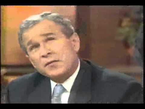 George W Bush's best joke (2000)