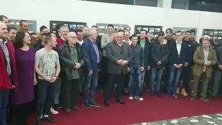 Konferencija za novinare u Jagodini - Kralj Petar I
