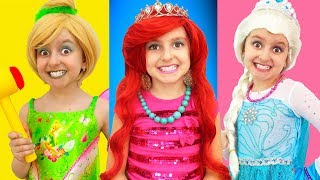 Princess Makeup & Dress up by Super Elsa