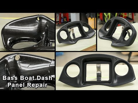 Bass Boat Dash Panel Repair