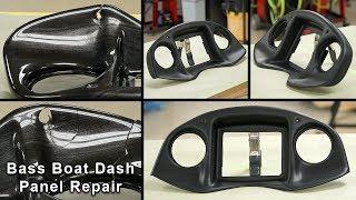 Bass Boat Dash Panel Repair