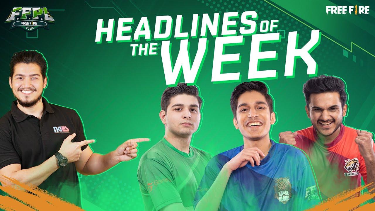 FFPL - Headlines of the Week - Week 5 | Free Fire Pakistan League 2021