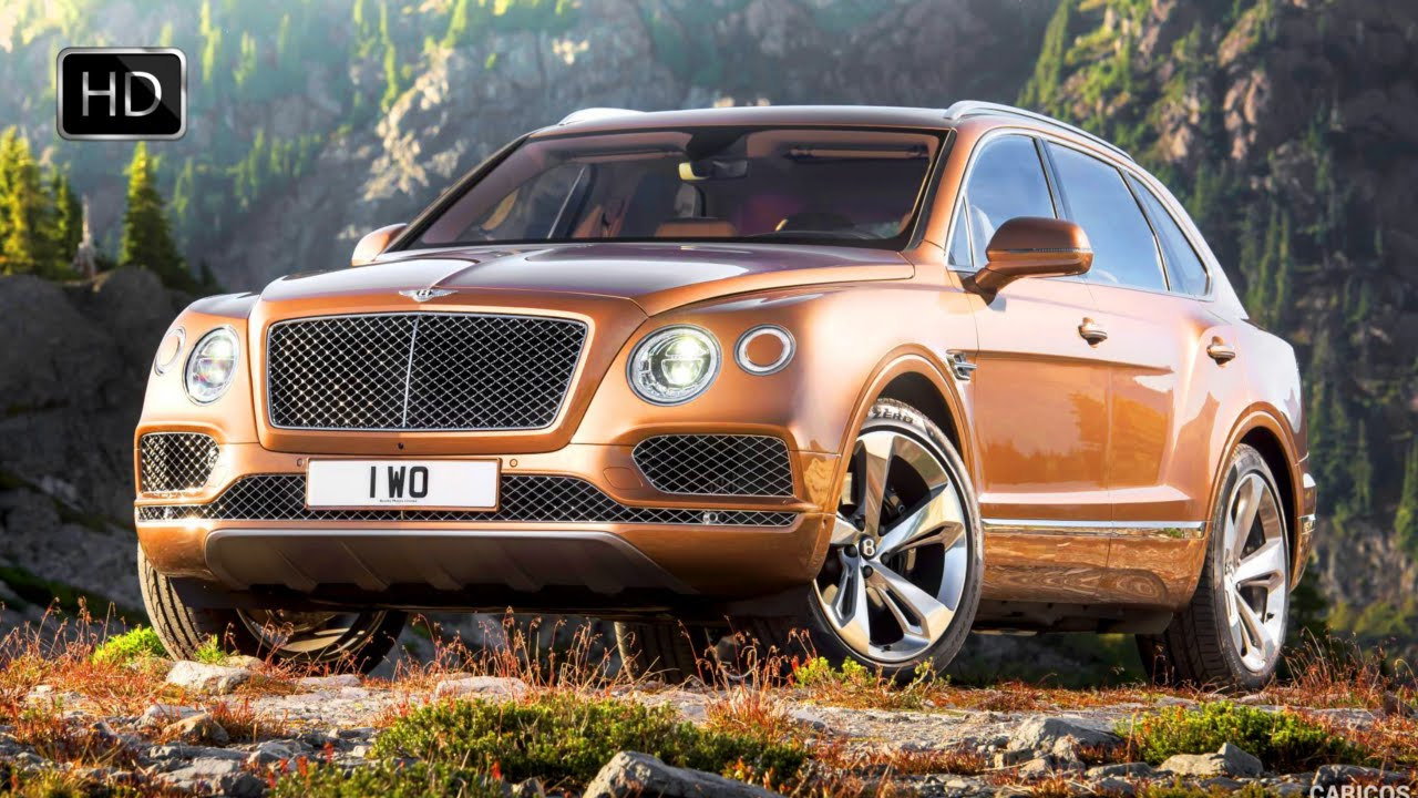 2017 Bentley Bentayga Suv 600hp Exterior Interior Off Road Hd