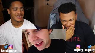 David Dobrik - HE GOT PUNCHED IN THE FACE!! (VERY PAINFUL) | Broskie Variety Reaction!