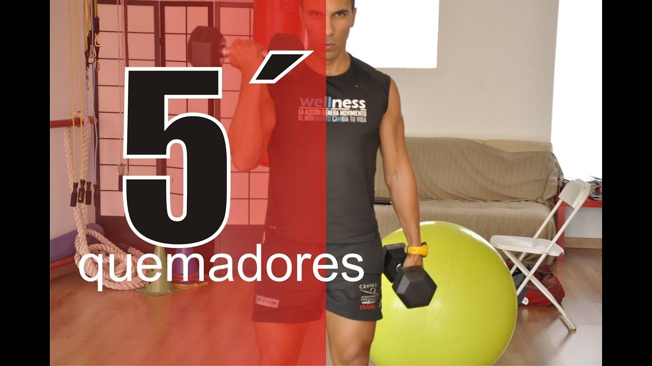 Circuito Quema Grasa En Casa : Video minutos de entrenamiento aerobico quema grasa