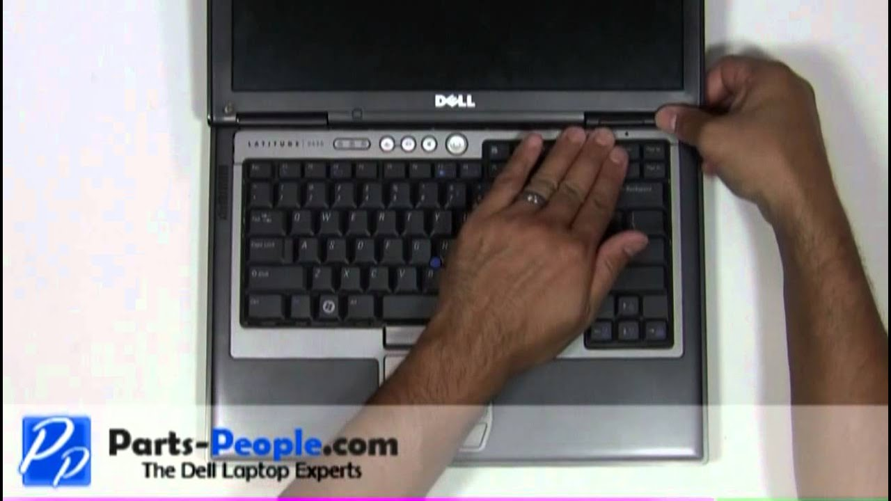 Dell Latitude D630 | Power Button Cover Replacement | How-To-Tutorial