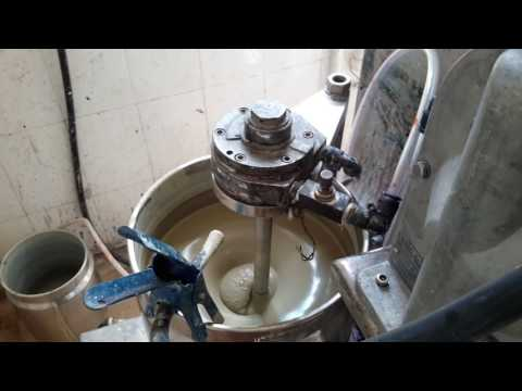 grinding experiment for lithium iron phosphate