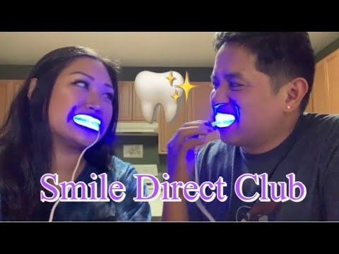 Smile Direct Club Whitening Kit First Impression Youtube
